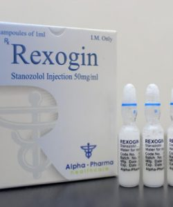 Buy Rexogin Stanozolol 50Mg 10 AMPS
