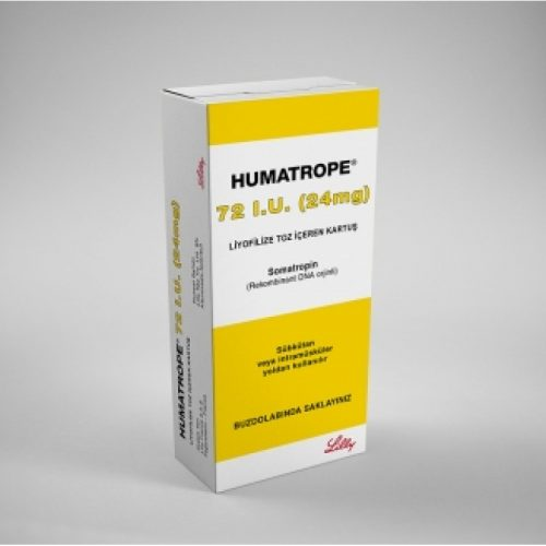 Humatrope Lilly 24mg 72IU is a naturally occurring substance secreted by the anterior pituitary gland.