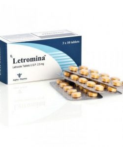 Buy Letromina Letrozole 2.5 Mg 30 Tablets online