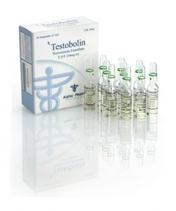 Testobolin Test Enanthate 250Mg 10 AMPS